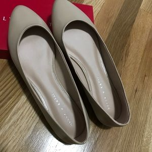 NEW/NEVER WORN Kelly & Katie Nude Flats